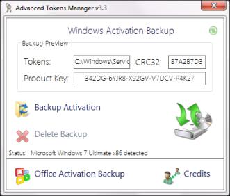 Advances Token manager Cara Reinstall Windows Tanpa Harus Aktivasi Ulang
