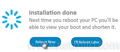 Reboot Meningkatkan Boot Windows dengan cepat