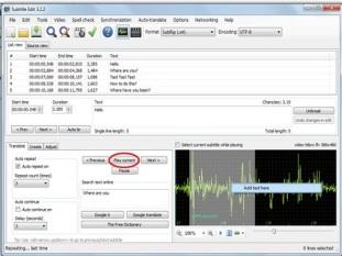 Subtitle Edit 3 Software Terbaik Untuk Menciptakan Subtitle Video
