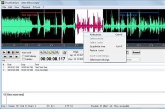 VisualSybSinc 3 Software Terbaik Untuk Menciptakan Subtitle Video