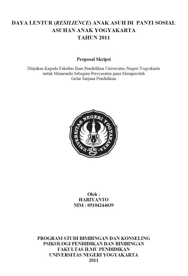Contoh Proposal Skripsi Ekonomi Manajemen Peatix